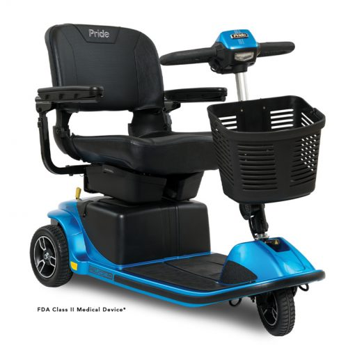 Revo 2.0 3 Wheel Mobility Scooter S66, Blue