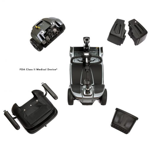 Revo 2.0 Mobility Scooter, Disassembled