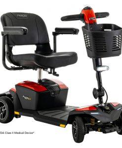 Zero Turn 8 Travel Scooter, Red