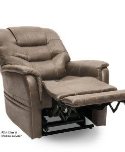 Elegance Vivalift Power Lift Chair Recliner PLR975 | Badlands Mushroom