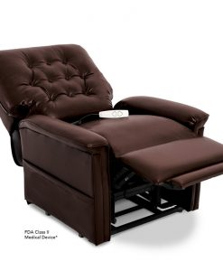 LC-358M Power Lift Chair Recliner in Sta-Kleen® Chestnut | Pride Lift Chairs | My Mobility Store