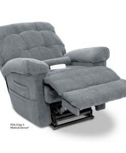 Oasis Lift Chair LC-580 in Crypton Cool Grey | Pride Lift Chairs | My Mobility Store