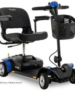 Go-Go Elite Traveller 4 Wheel Travel Scooter in Blue