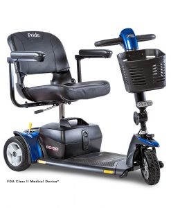 Go-Go Sport 3 Wheel Travel Scooter in Blue | My Mobility Store | A&J Mobility