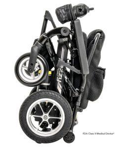 Jazzy Passport Folding Power Wheelchair, Folded