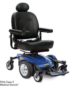 Jazzy Select 6 Power Wheelchair in Blue