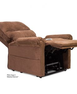Essential LC-105 Lift Chair Recliner in Micro-Suede Cocoa | Pride Lift Chairs | My Mobility Store
