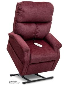 LC-250 Power Lift Chair Recliner in Black Cherry | Essential Collection | Pride Lift Chairs | My Mobility Store