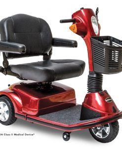 Maxima 3 Wheel Heavy Duty Mobility Scooter, Red
