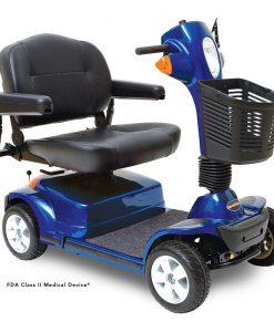 Maxima 4 Wheel Heavy Duty Scooter, Blue