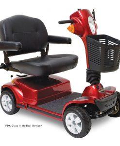 Maxima 4 Wheel Heavy Duty Scooter, Red