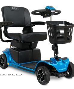Revo 2.0 4 Wheel Mobility Scooter S67, Blue