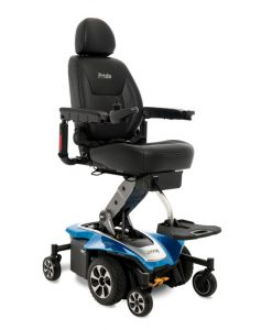 Jazzy Air 2 Elevating Electric Wheelchair, Sapphire Blue