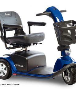 Victory 10 3 Wheel Mobility Scooter, Blue