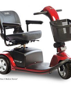 Victory 10 3 Wheel Mobility Scooter, Red