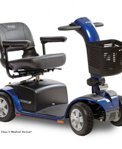 Victory 10 4 Wheel Mobility Scooter, Blue