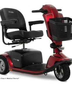 Victory 10.2 3 Wheel Mobility Scooter, Red