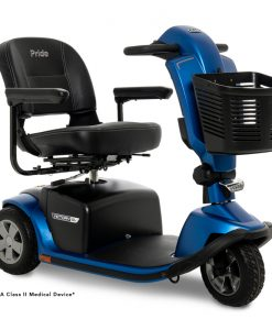 Victory 10.2 3 Wheel Mobility Scooter, Blue