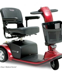 Victory 9 3 Wheel Mobility Scooter, Red