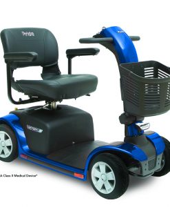 Victory 9 4 Wheel Mobility Scooter, Blue
