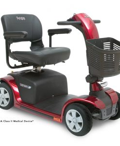 Victory 9 4 Wheel Mobility Scooter, Red