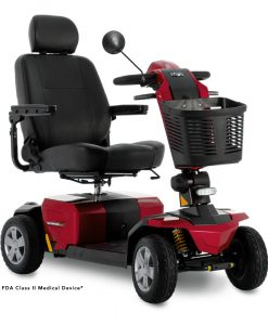 Victory LX Sport Mobility Scooter in Candy Apple Red | My Mobility Store