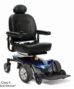 Viper Blue | Jazzy Elite ES-1 Lightweight Electric Wheelchair | Pride Jazzy Wheelchairs | My Mobility Store