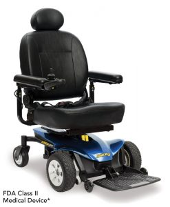 Viper Blue | Jazzy Elite ES Lightweight Electric Wheelchair | Pride Jazzy Wheelchairs | My Mobility Store