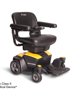 Citrine Yellow | Go Chair Portable Travel Power Wheelchair | Pride Jazzy Wheelchairs | My Mobility Store