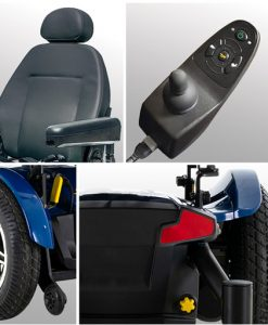 Features | Jazzy Elite 14 Power Wheelchair | Pride Electric Wheelchairs | My Mobility Store