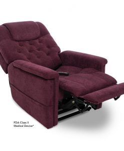 Legacy Vivalift Power Lift Chair Recliner in Saville Wine | Pride Lift Chairs | My Mobility Store