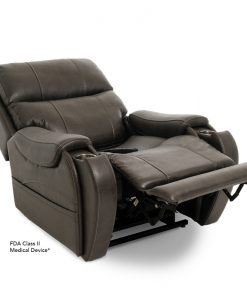 Atlas Vivalift Power Recliner in Badlands Steel | Pride Lift Chairs | My Mobility Store