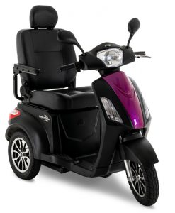 Raptor Mobility Scooter in Pink Topaz | Pride Scooters | My Mobility Store