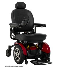Jazzy Red | Jazzy Elite HD Heavy Duty Power Wheelchair | Pride Jazzy Wheelchairs | My Mobility Store