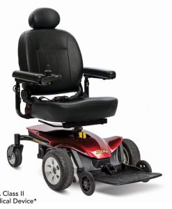 Candy Apple Red | Jazzy Elite ES-1 Lightweight Electric Wheelchair | Pride Jazzy Wheelchairs | My Mobility Store
