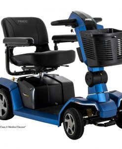 Zero Turn 10 Travel Scooter ZT10 in Blue | Pride Scooters | My Mobility Store