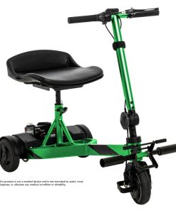 iRide Folding Scooter in Lime | Pride Scooters | My Mobility Store